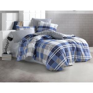 TipTrade Povlečení Bavlna 140x220+70x90 - Mark Modré