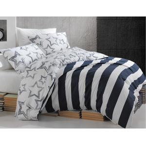 TipTrade Povlečení Bavlna 140x200+70x90 - Stella Modré