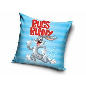 TipTrade Povlak na polštářek 40x40 cm - Králík Bugs Bunny modrý